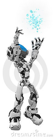 Blue Screen Robot, Data Box Reach