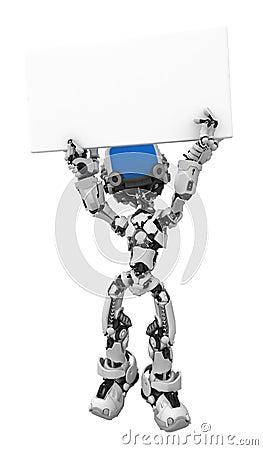Blue Screen Robot, Sign