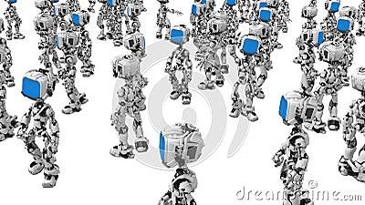 Blue Screen Robots, Amidst