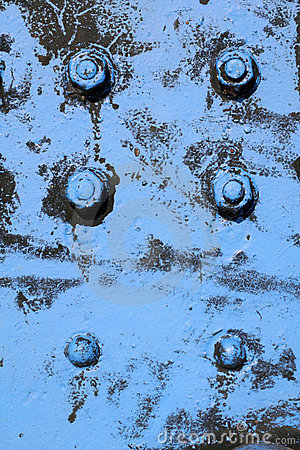 Free Blue Screws Royalty Free Stock Images - 1363599