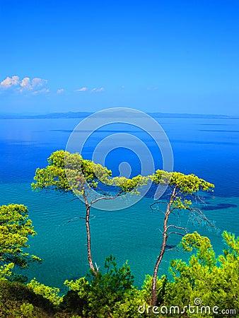 Free Blue Sea Stock Image - 3054421