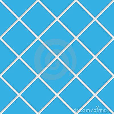 Blue seamless ceramic tiles