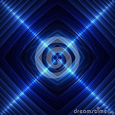 Blue Seamless Tile
