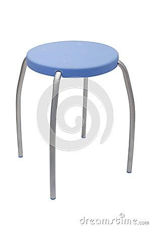 Blue seat stool