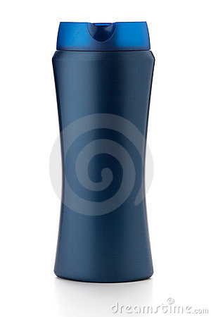 Blue Shampoo Bottle Stock Photo - Image: 17296230