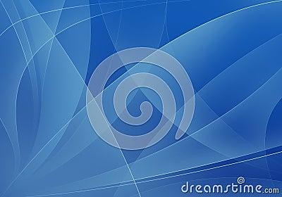Blue shapes background