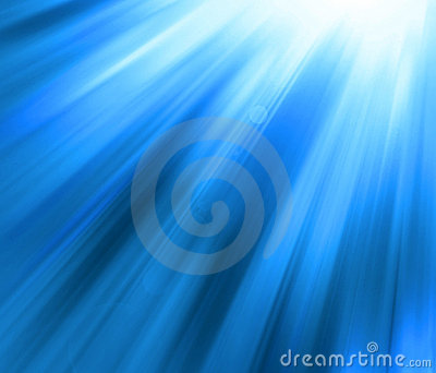 Blue shine - abstract background