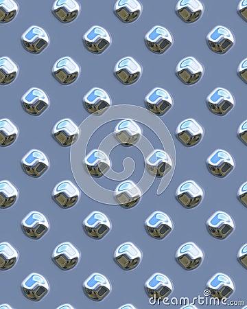 Blue shiny dot diamondplate