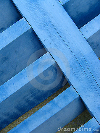 Blue Shutter Close-up Royalty Free Stock Image - Image: 4303886