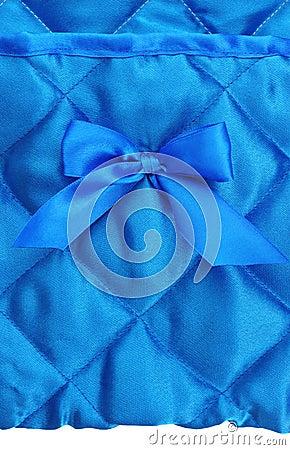 Blue silk background