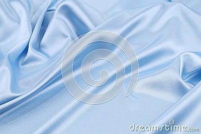 Blue silk background.