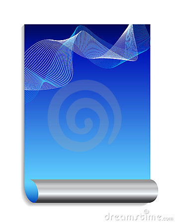Blue and silver abstract background