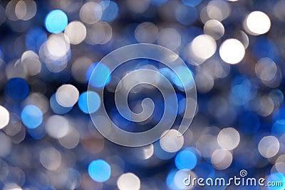 Blue & Silver Blur Background