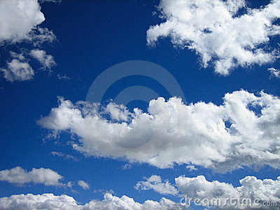 Blue Skies & Puffy Clouds