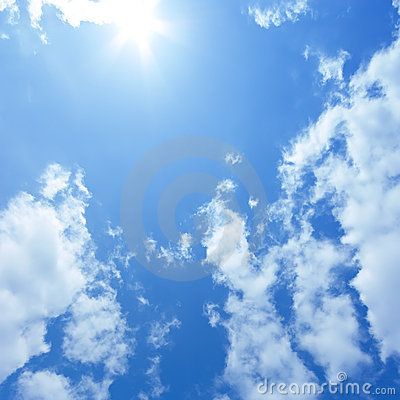 Free Blue Sky Royalty Free Stock Photo - 13898465