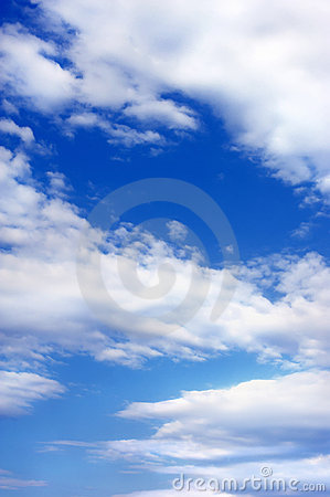 Blue Sky Royalty Free Stock Images - Image: 15076159