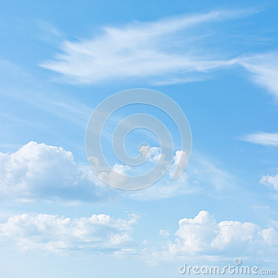 Free Blue Sky Royalty Free Stock Image - 27204276