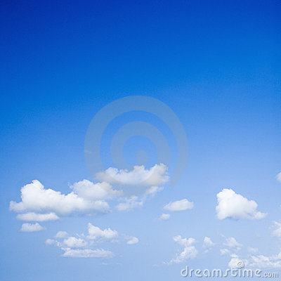 Free Blue Sky. Royalty Free Stock Image - 3422246