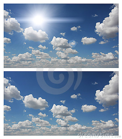 Free Blue Sky And Clouds Royalty Free Stock Image - 20054396
