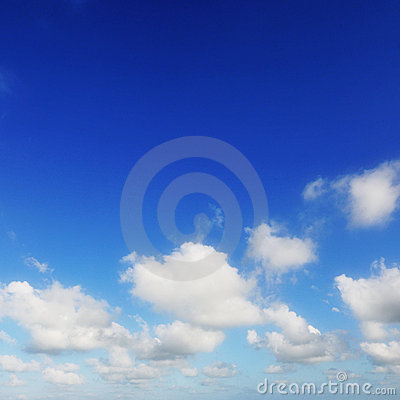 Free Blue Sky And White Clouds Stock Photography - 13826562