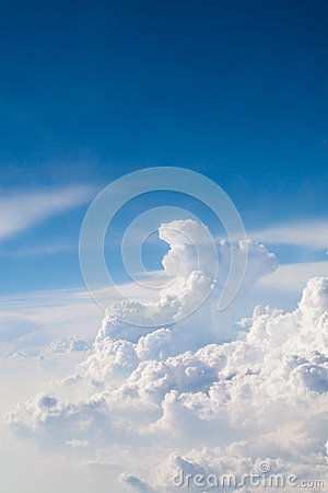 Free Blue Sky And White Clouds Royalty Free Stock Photography - 30896477