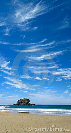 Free Blue Sky And White Clouds. Royalty Free Stock Photography - 5854697