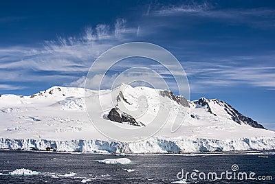 Blue Sky In Antarctica