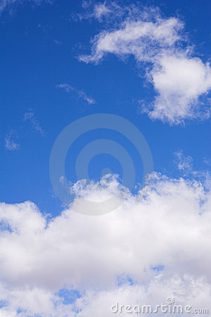 Blue Sky and Clouds #2