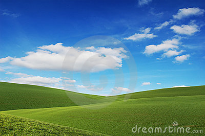 Blue Sky, Green Fields