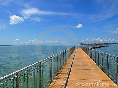 Blue Sky Jetty