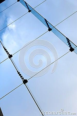 Blue Sky Through a Window