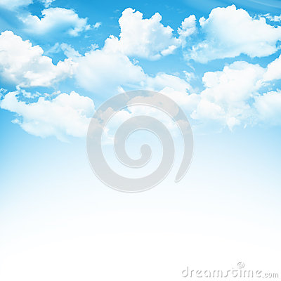 Free Blue Sky With Clouds Stock Photography - 39464152