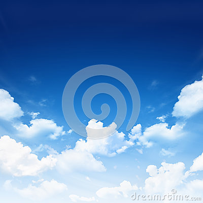 Free Blue Sky With Clouds Stock Photos - 39464253