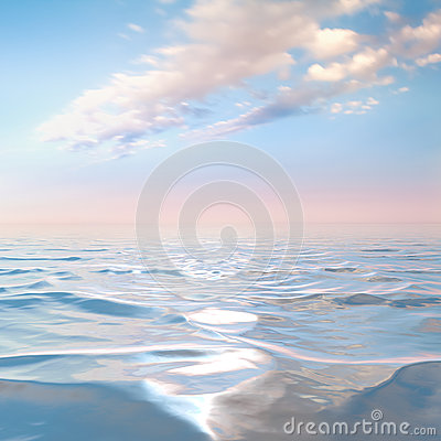 Free Blue Sky With Clouds On The Sea Stock Photos - 76348643