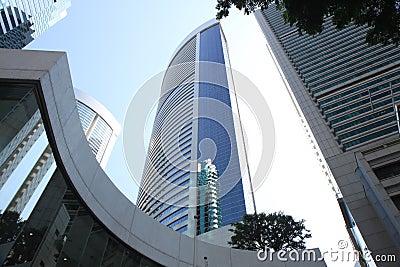 Blue skyscraper 2943