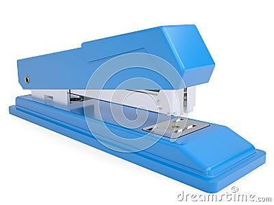 Blue small stapler