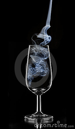Blue smoke sherry