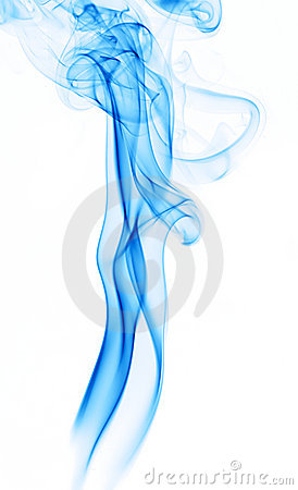 Free Blue Smoke Trail Stock Photo - 5444970