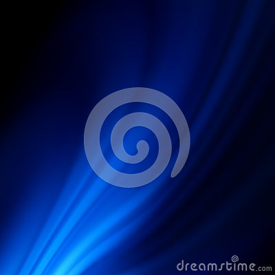 Blue smooth twist light lines background. EPS 8