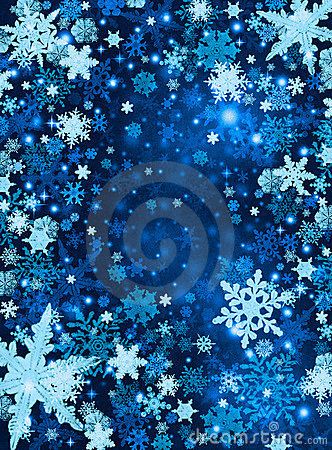Snow Background on Royalty Free Illustration  Blue Snow Background  Image  11628340