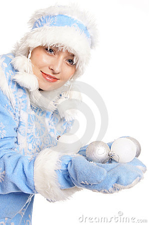 Blue snow maiden