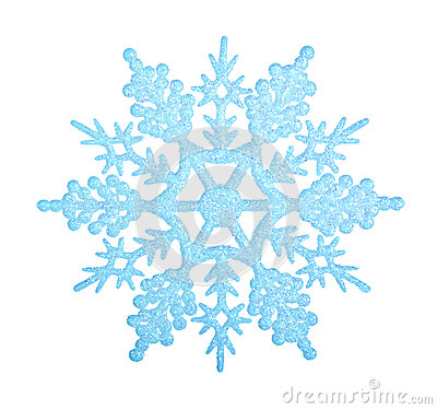 Free Blue Snowflake. Royalty Free Stock Photography - 45639077