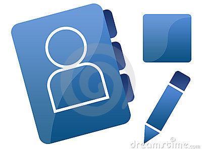 Blue Social Networking Icons/Graphics