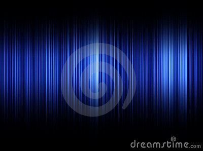 Blue Sound Waves