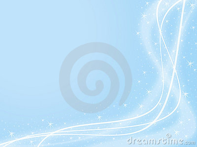 Blue Sparkle Background