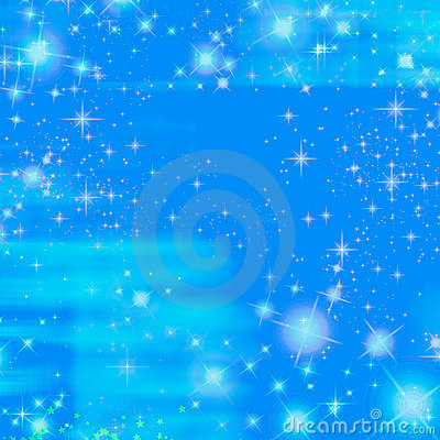 Free Blue Sparkle Sky Twinkle Ocean Stock Photography - 779732