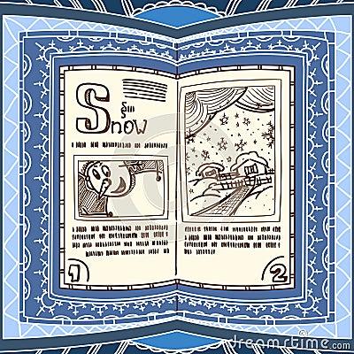 Blue spell book