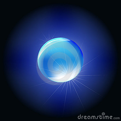 Blue Sphere