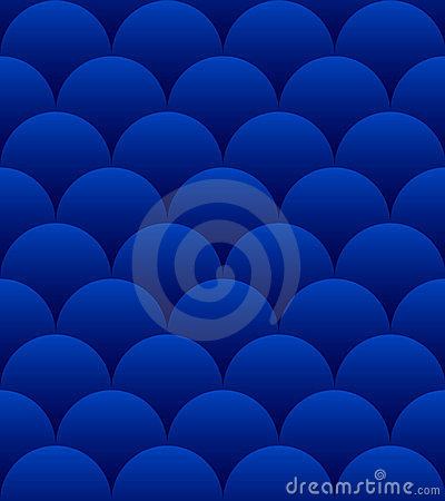 Blue Spheres Seamless Pattern