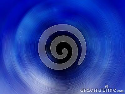 Blue Spiral Black Hole